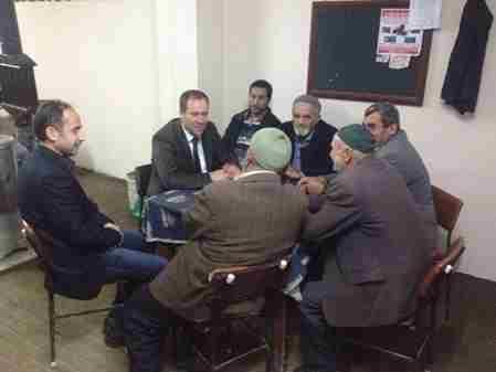 Geyve Belediye Başkanı Murat Kaya y.safıbey köyünde vatandaşlar ile sohbet etti