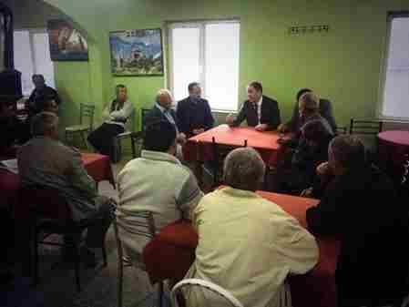 Geyve Belediye Başkanı Murat Kaya Akdoğan köyünde vatandaşlar ile sohbet etti