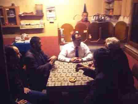 Geyve Belediye Başkanı Murat Kaya A. Safıbety köyünde vatandaşlar ile sohbet etti
