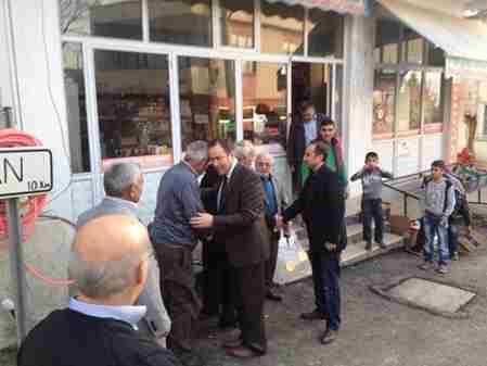 Geyve Belediye Başkanı Murat kaya Umurbey köyünde