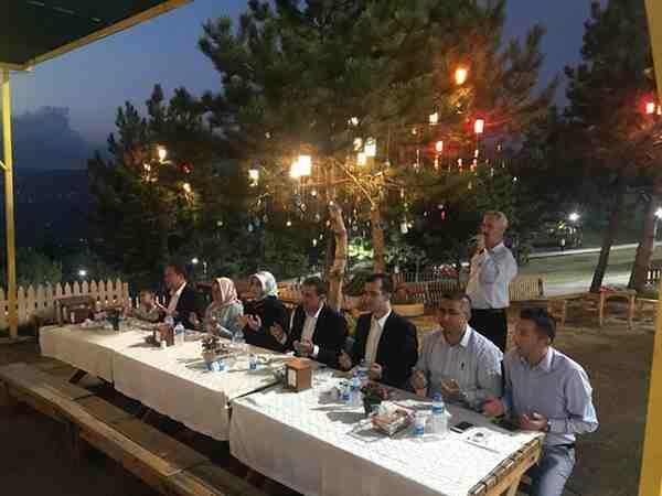 Şehit Yakınları ve Gaziler 30 Ağustos Yemeğinde Buluştu.