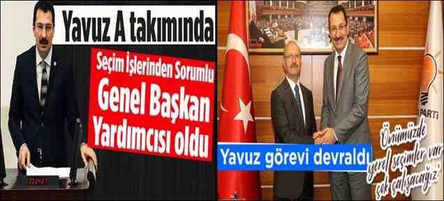Ali İhsan Yavuz MYK'da