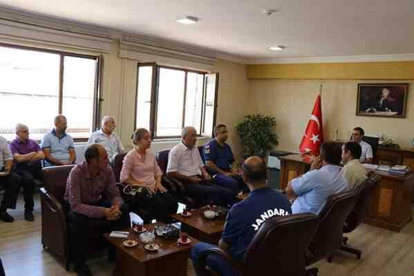 Geyve'de Ağustos Ayı İlçe Güvenlik Toplantısı Yapıldı