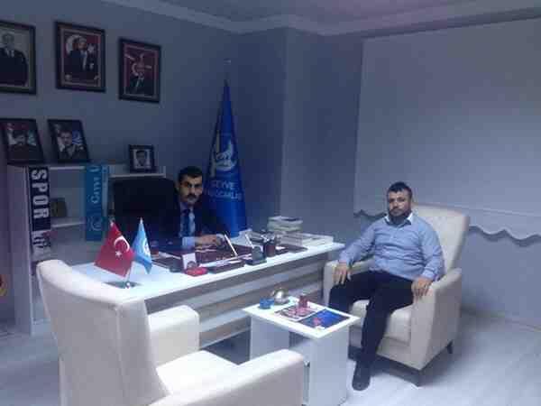 Ülkü Ocakları İl Başkanı Sofuoğlu Geyve'de