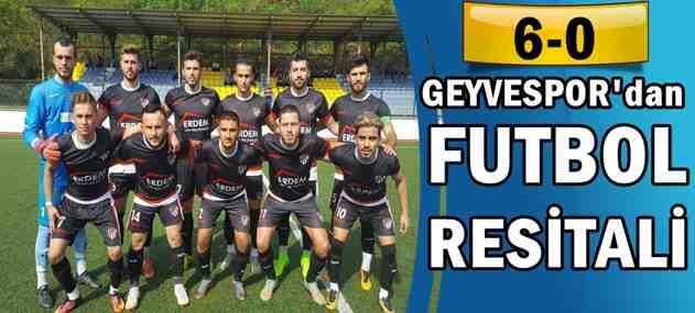 Geyvespor'dan Futbol Resitali