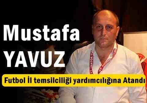 Mustafa Yavuz, Futbol İl Temsilcisi Yardımcılığına Atandı.