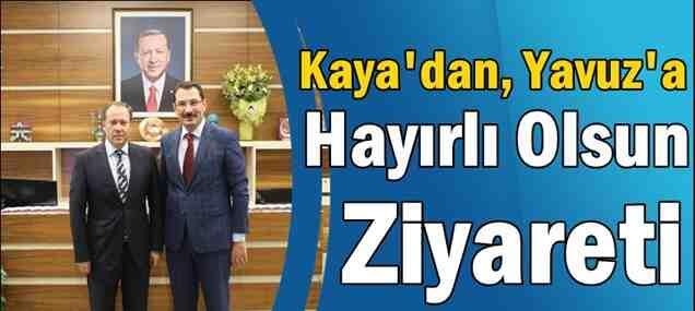 Başkan Kaya'dan Hayırlı Olsun Ziyareti