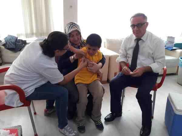 Geyve'de Aşı Kampanyası Başladı.