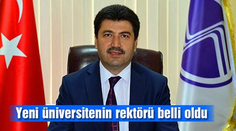 Sakarya Uygulamalı Bilimler Üniversitesine yeni rektör atandı.
