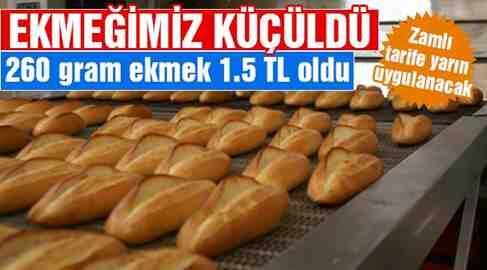 Ekmeğe Gramaj Ayarı..