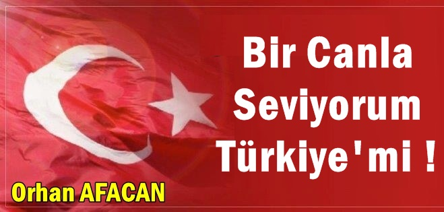 Bir Canla Seviyorum Türkiye'mi !