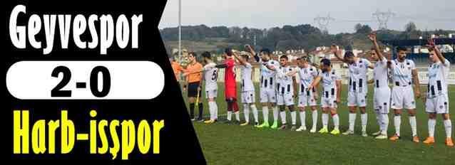Geyvespor 2-0 Harbişspor