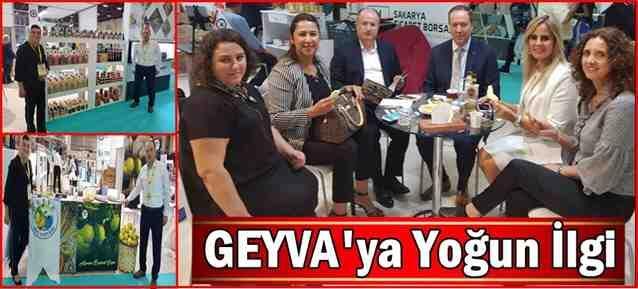 YÖREX'te GEYVA'ya Yoğun İlgi..