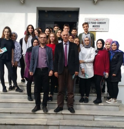 Geyve Anadolu Lisesi Müzede