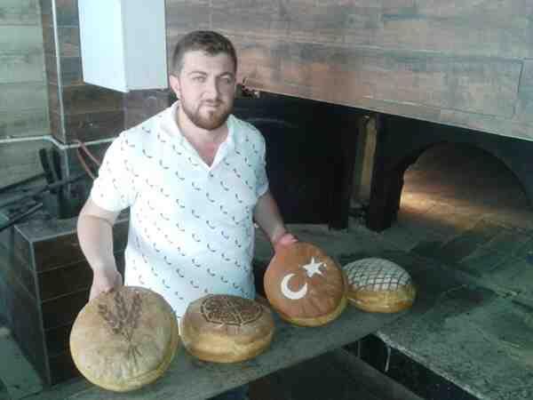 Arslanlar Fırın'dan Bayraklı Ekmek