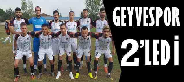 Geyvespor 2-0 Kirazcaspor