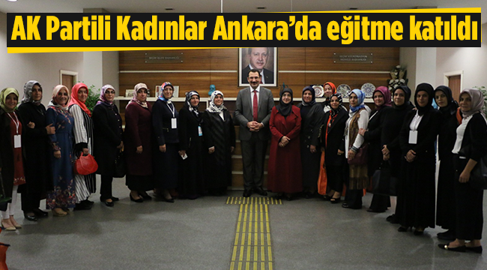 Ak Parti'li Kadınlar Ankara'da