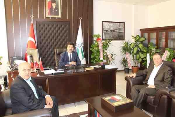 Başkan Kaya'dan SUBU Rektörü Sarıbıyık'a Ziyaret