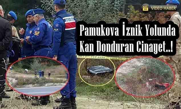 Pamukova İznik Yolunda Kan Donduran Cinayet..!