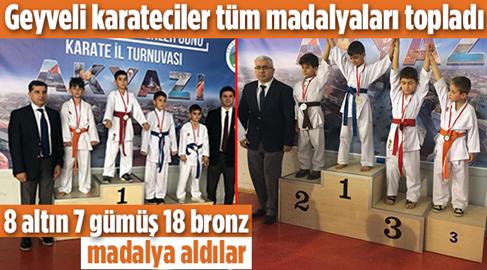 Geyveli Sporculardan Öğretmenlerine Anlamlı Madalya