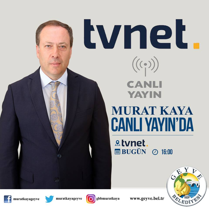 Başkan Kaya, TV NET Ekranlarında