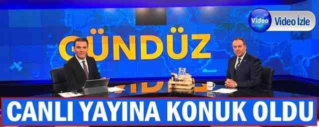 Başkan Kaya, Canlı yayında TV NET'e Konuk Oldu.