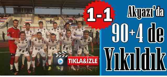 Asakyazıspor 1-1 Geyvespor