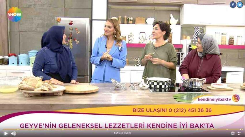 Geyvenin Lezzetleri Ebru Akel'le Şhov TV'de