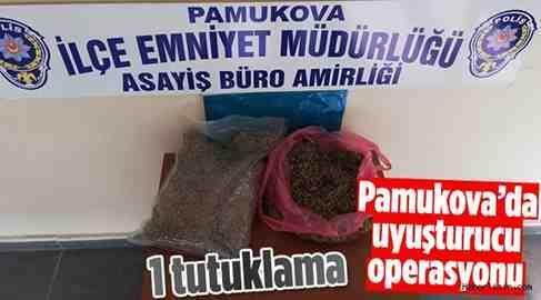 Pamukova'da Uyuşturucu Operasyonu