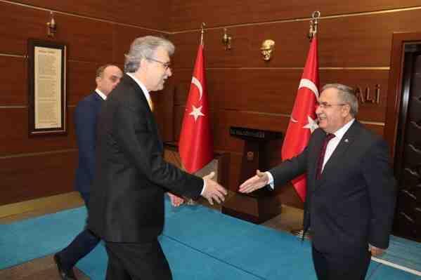 Yüce, Vali, Nayir'i Ziyarert Etti