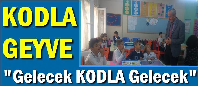 """KODLA GEYVE"""" Projesi kapsamında Kodlama Atölyesi Kuruldu."""