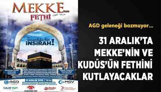 AGD'den 'Mekke'nin Fethi' programına Davet