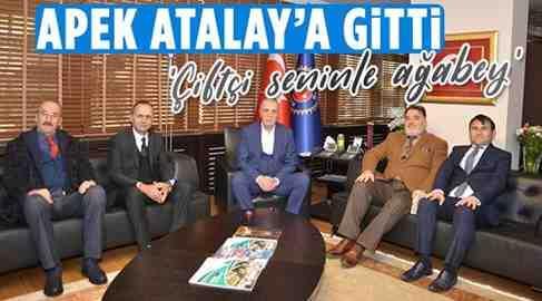 APEK'ten Atalay'a Destek