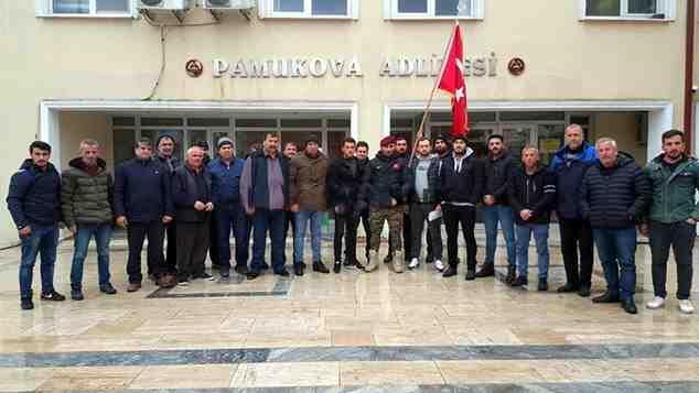 Kamyonculardan Fatih Portakal hakkında suç duyurusu