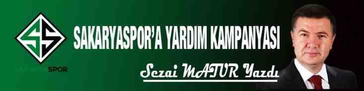 Sakaryaspor'a yardım kampanyası