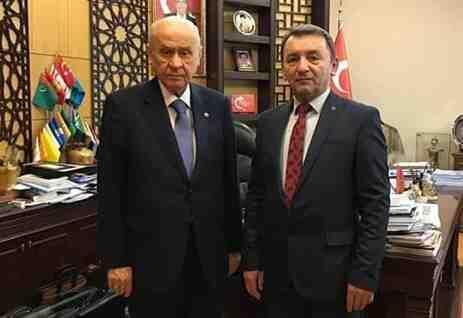 MHP Geyve Belediye Başkan Aday Adayı Kaya, Ankara'da
