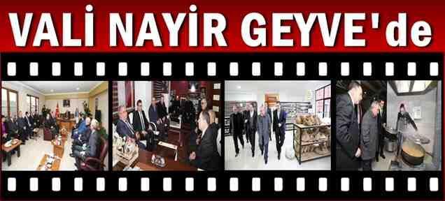 Vali Nayir Geyve'de