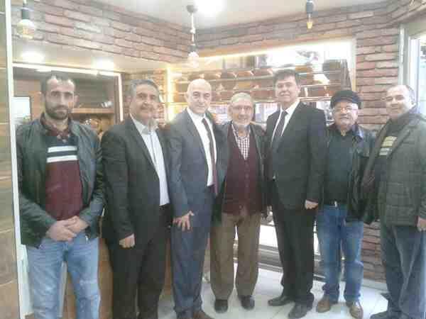 İYİ Parti'den Esnaf ziyareti