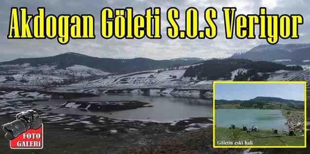 Akdoğan Göleti S.O.S Veriyor