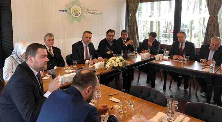 Ak Partili Başkanlar Bu Toplantıda Buluştu