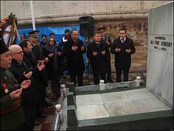 Alifuat Cebesoy Paşa Törenle Anılacak