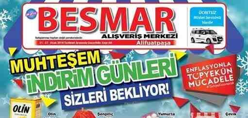 Besmar'dan Yeni Yılın İlk İndirim Fırsatı..
