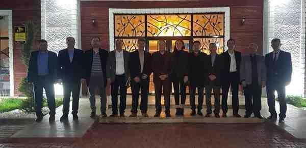 Başkan Kaya'ya Sendikacılardan Ziyaret