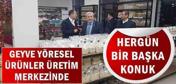 Osmaneli Belediye Başkanı Şahin, Geyve Yöresel'de