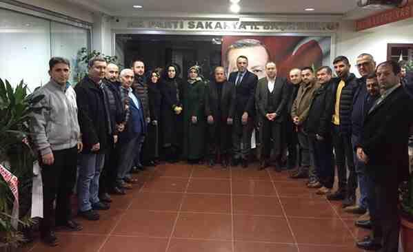 Başkan Kaya ve Ak Parti Teşkilatından Tever'e Ziyaret