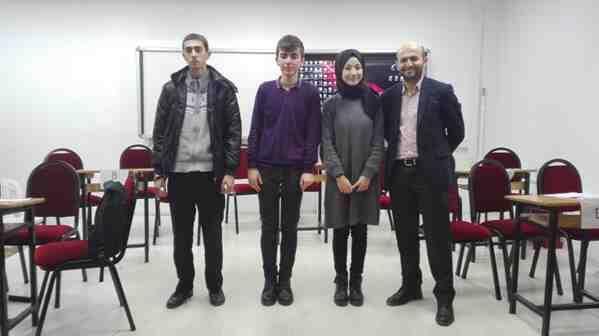 Geyve Anadolu Lisesinde bilgi yarışması