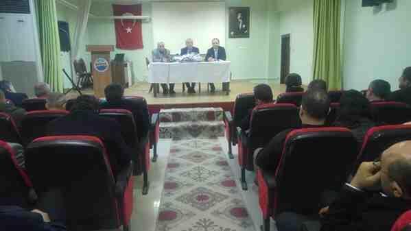 İkinci Dönem Başı Müdürler Toplantısı Yapıldı