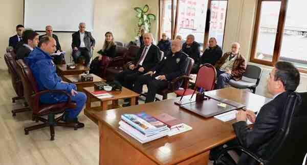 Şubat Ayı Güvenlik Toplantısı Yapıldı