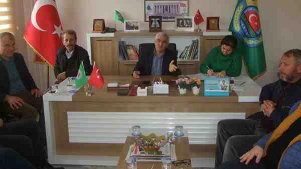 Pınar , Yeniden Ziraat Odası Başkanı..