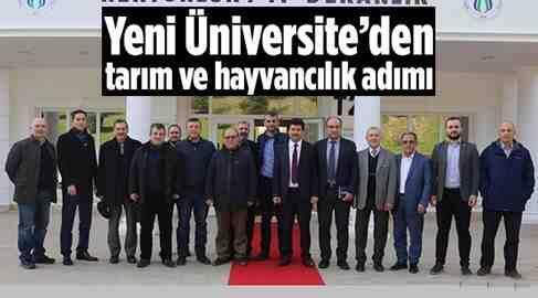 Tarım ve Hayvancılık Alanında Yeni Üniversite devrede